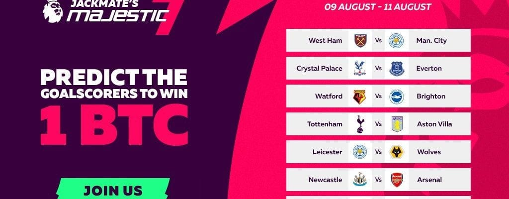 Fortune Jack Launches Majestic 7 Premier League Competition to Win Big Bitcoin