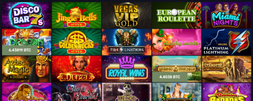 BitcoinCasino.us Screenshot 1