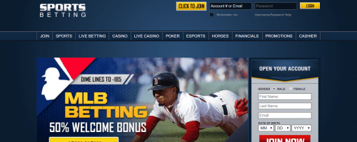 SportsBetting.ag Screenshot 1