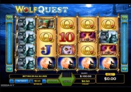 Wolf Quest screenshot