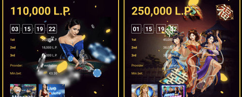 Zet Casino Screenshot 1