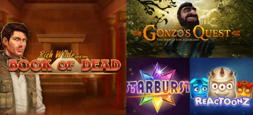 book of dead and other slot games