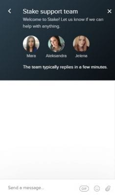 stake support team