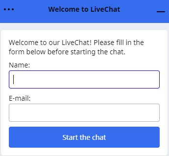 Betchain live chat