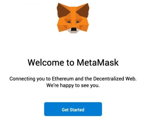 getting started at metamask