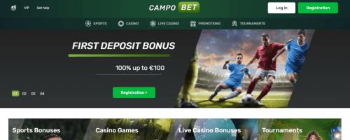 Campobet Casino Screenshot 1
