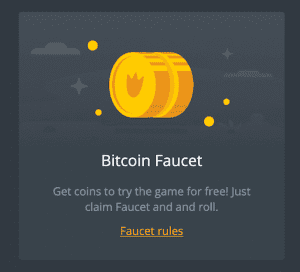 Bitcoin casino faucets offer free Bitcoin