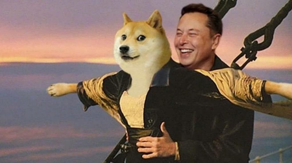Elon Musk affects the price of Dogecoin