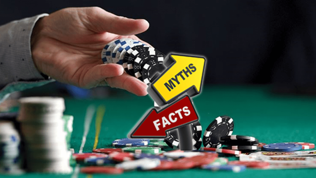 Mythbusters about online bitcoin casino gambling