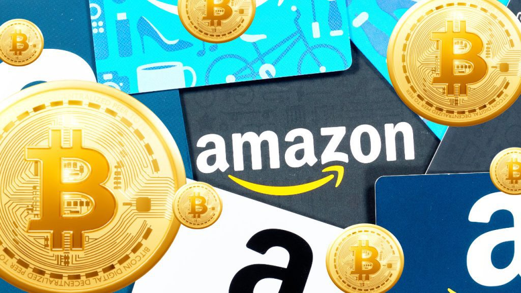 Amaon users can now purchase BTC vouchers to use at Amaon