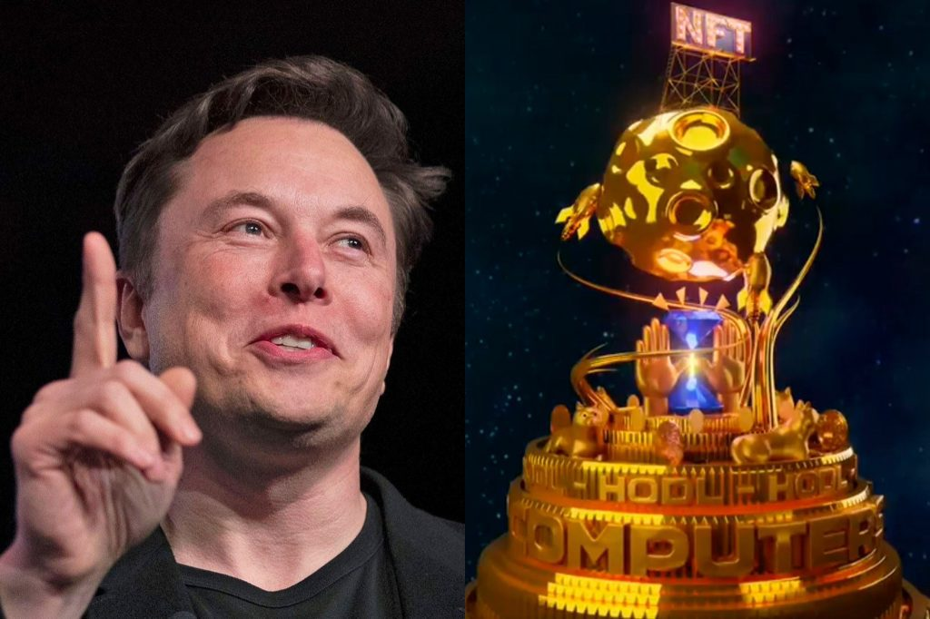 Elon Musk at the forefront of NFT